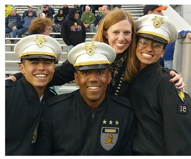 Erin and Cadets Leaders