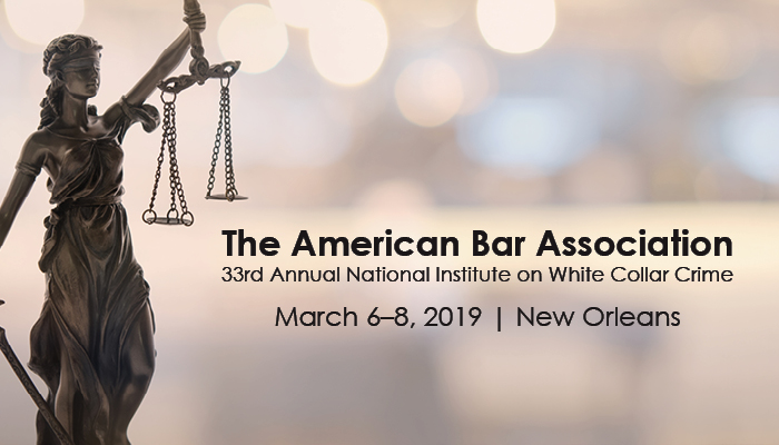 Image: ABA White Collar Conference