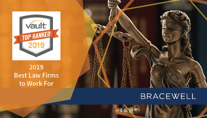 Vault Ranks Bracewell Among Best Law Firms to Work For