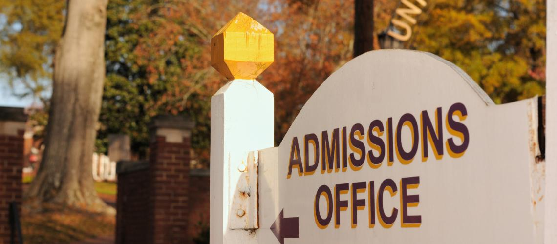 Image: Admissions Office